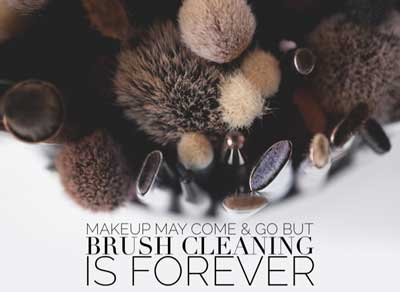 Nobody has time to clean their brushes for hours