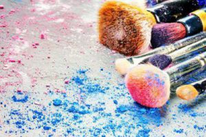Dirty brushes can lead to problems and even bacteria