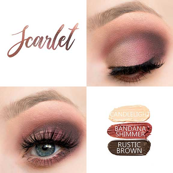 Reds are Best - bold eye look